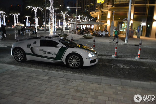 Dubai Police Force Bugatti Is Now Spotted