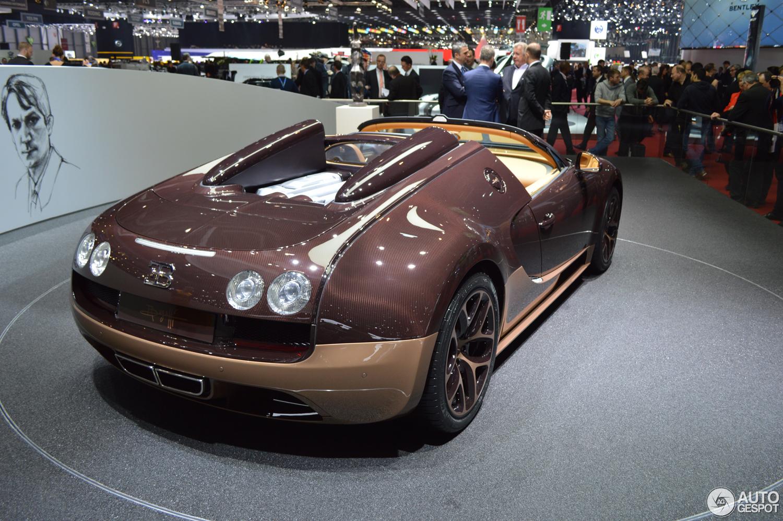 Genève 2014: Bugatti Veyron 16.4 Grand Sport Vitesse Rembrandt