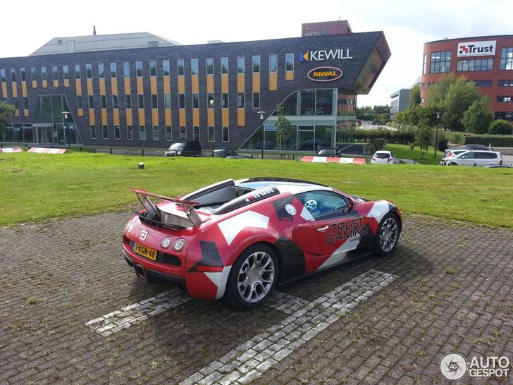 Spot van de dag: Bugatti Veyron 16.4 Grand Sport