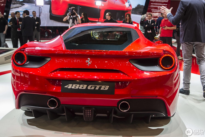 Geneva 2015 Ferrari 488 Gtb