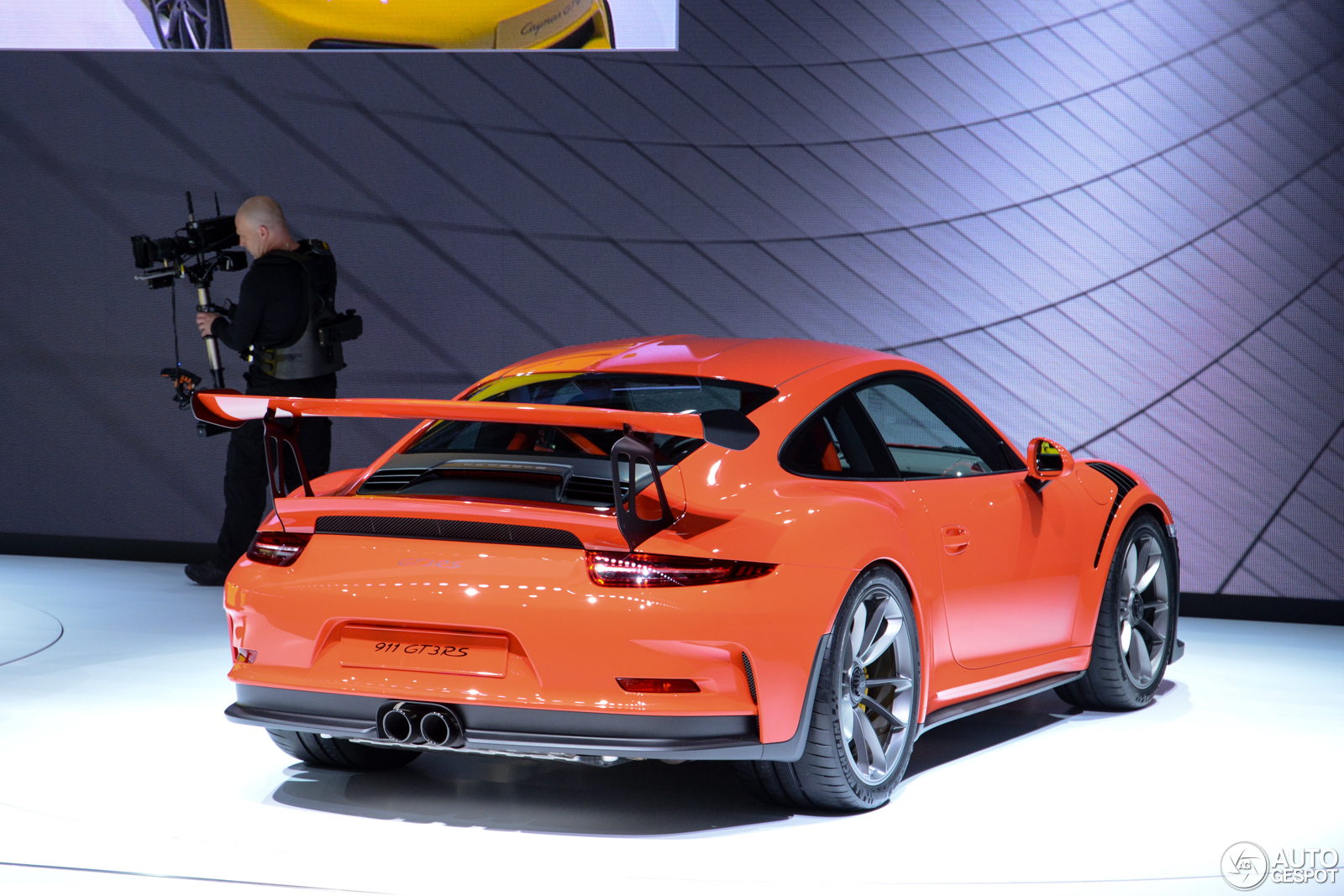 geneva 2015 porsche 991 gt3 rs. Black Bedroom Furniture Sets. Home Design Ideas