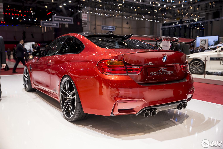 Geneva 2015: AC Schnitzer BMW M4 Racing aerodynamics
