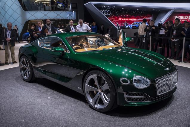 Bentley EXP 10 Speed 6 waarschijnlijk in productie met aanpassingen