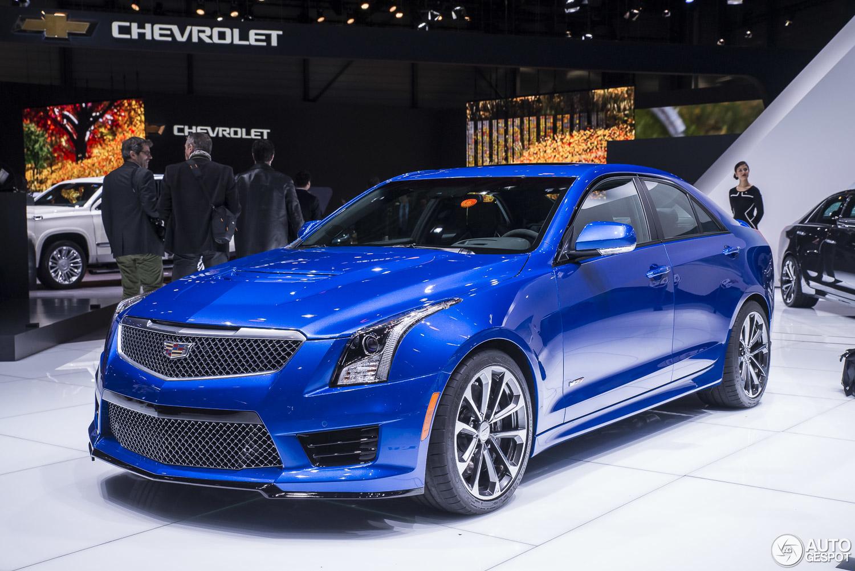 Cadillac V Series >> Geneva 2015: the brutes from Cadillac