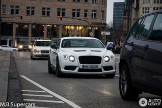 Bentley Continental GT3-R productie op stoom