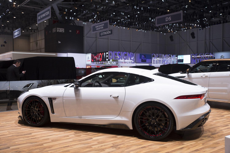 Geneva 2015: Jaguar F-TYPE Coupe Startech
