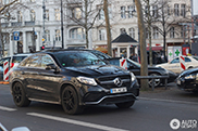 First Mercedes-AMG GLE63s are spotted