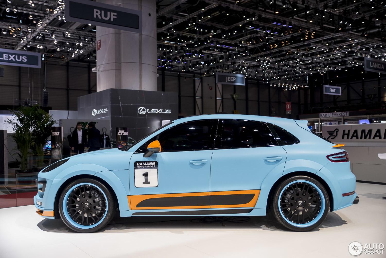 Geneva 2015 Hamann Porsche Macan