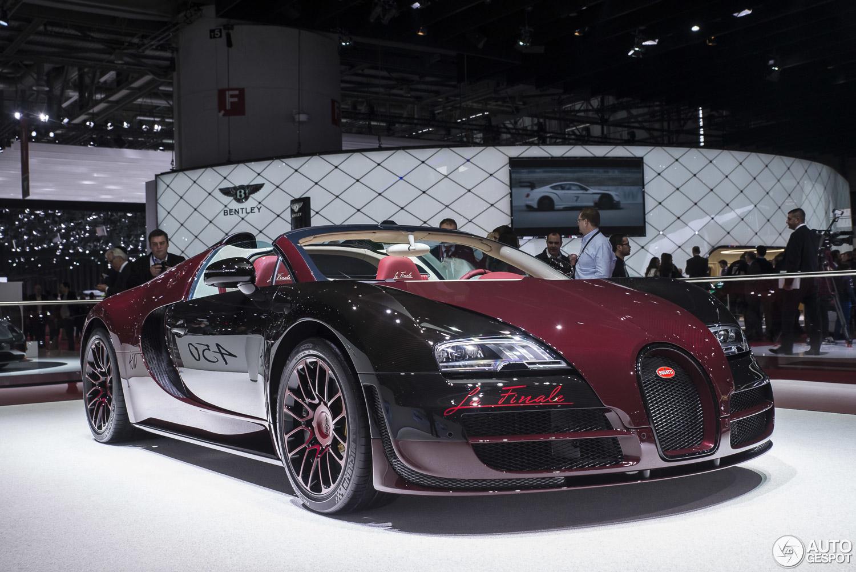 geneva 2015 bugatti veyron 16 4 grand sport vitesse la finale
