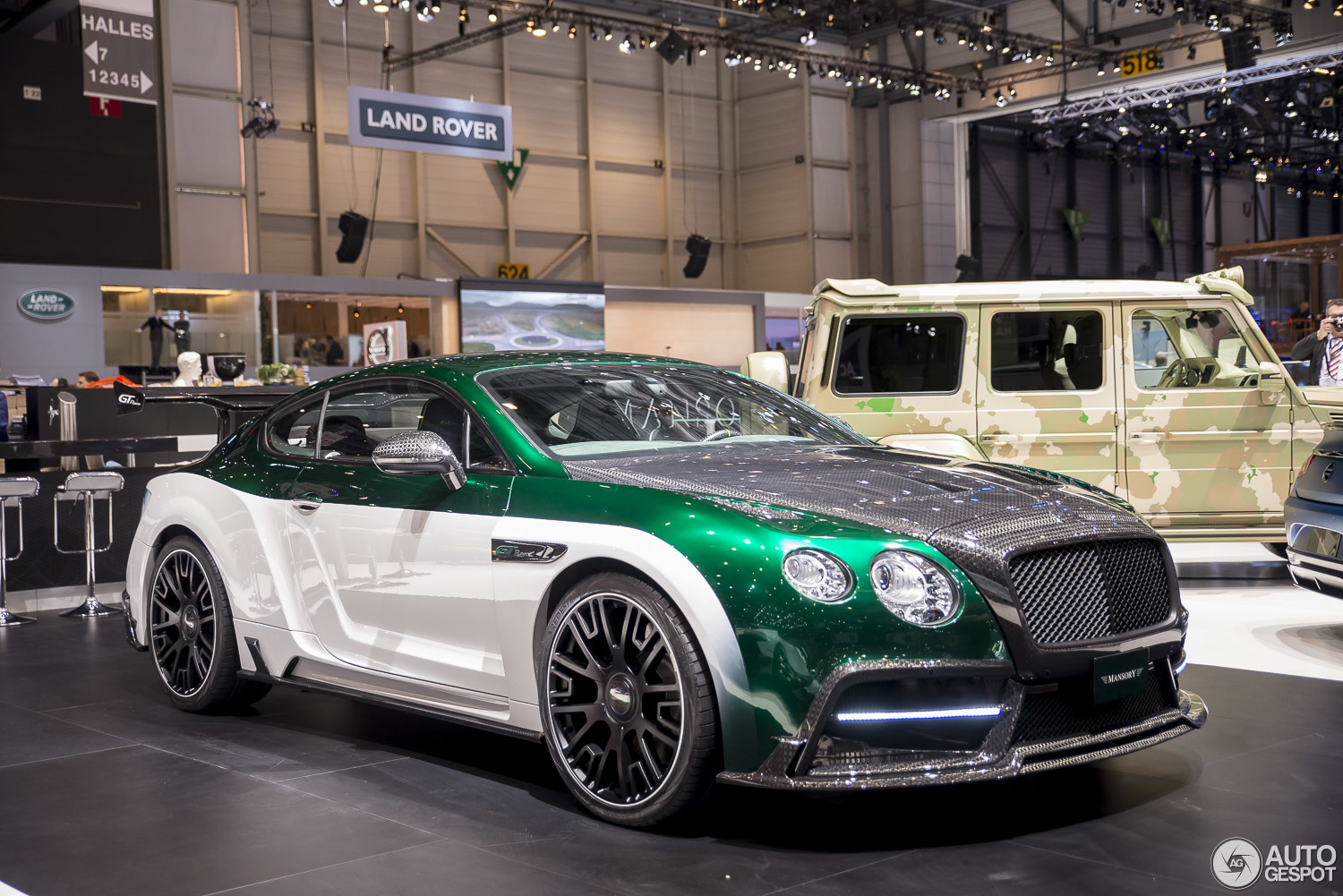 Race Cars For Sale >> Geneva 2015: Mansory GT Race