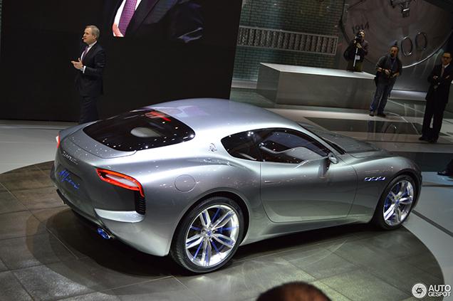Nieuwe Maserati GranTurismo komt alleen als Coupé