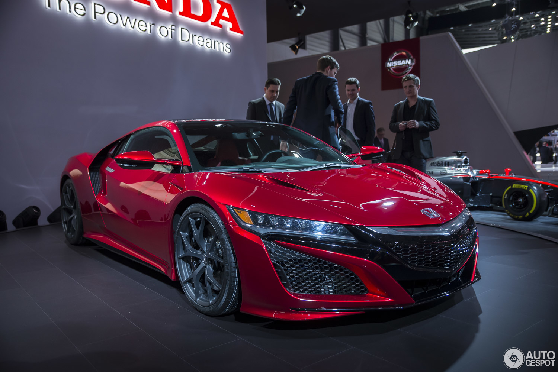 Geneva 2015: Honda NSX Honda Nsx 2015 Price