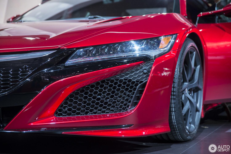 Geneva 2015 Honda Nsx