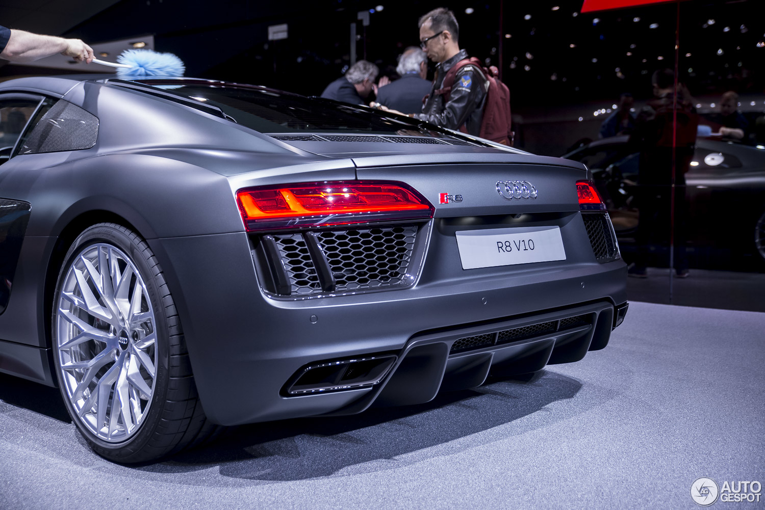 Geneva 2015 The New Audi R8