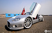 Rare Spyker C8 Double 12S spotted in Dalian