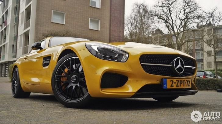 Spot Van De Dag Mercedes Amg Gt S In Den Haag