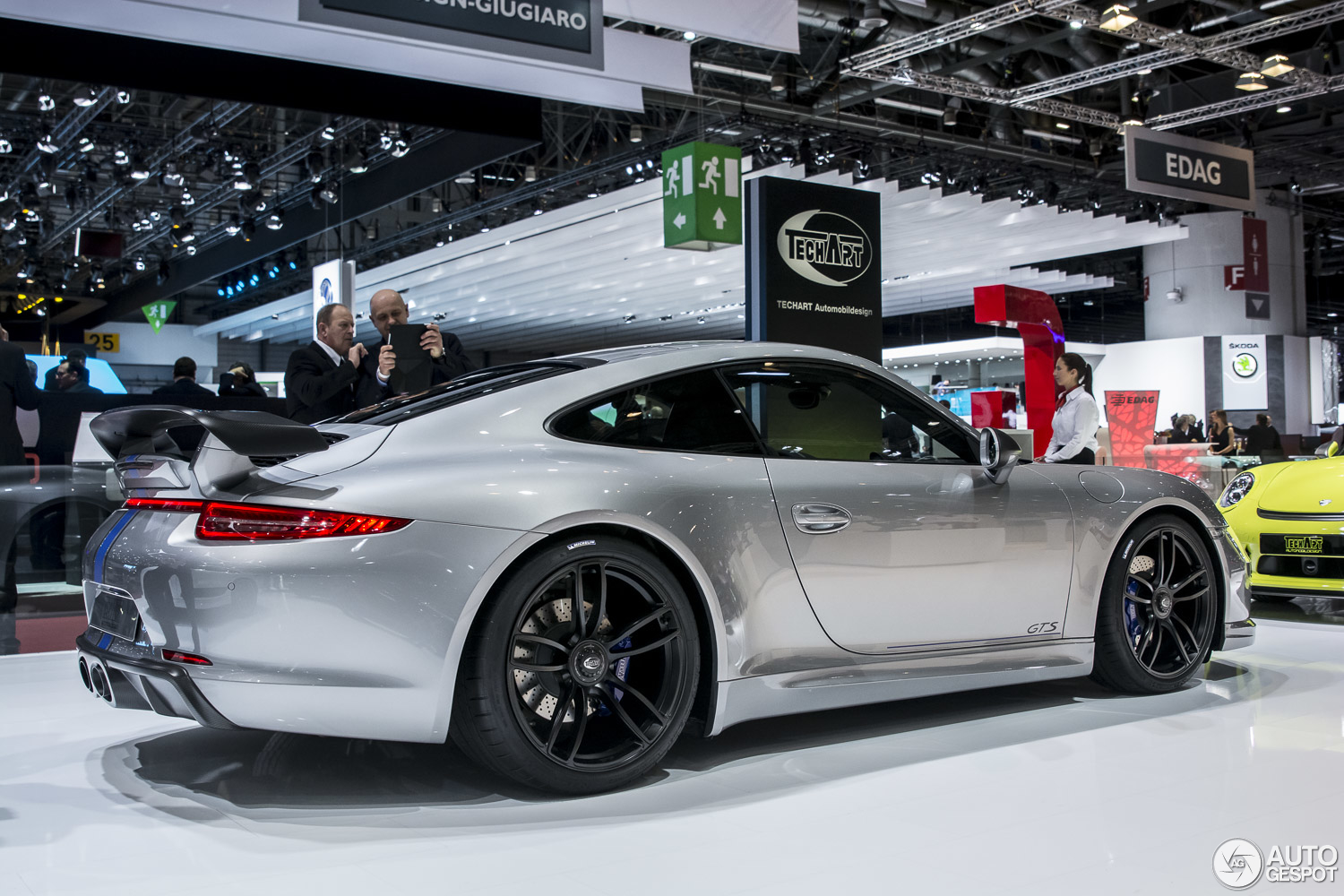 Geneva 2015 Techart 991 Carrera Gts