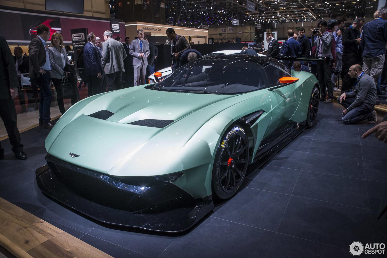 Geneva 2015: Aston Martin Vulcan