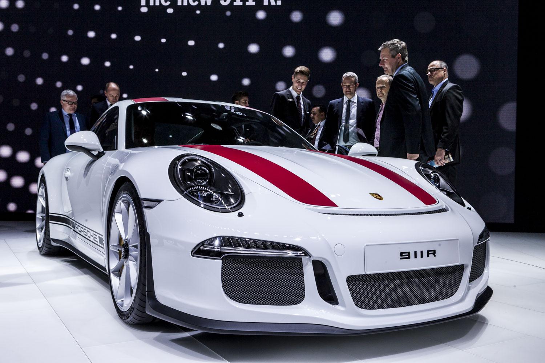 Genève 2016: Porsche 911 R