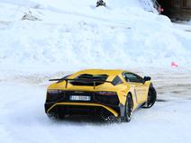 Galeria: Lamborghini Winter Accademia w Livigno