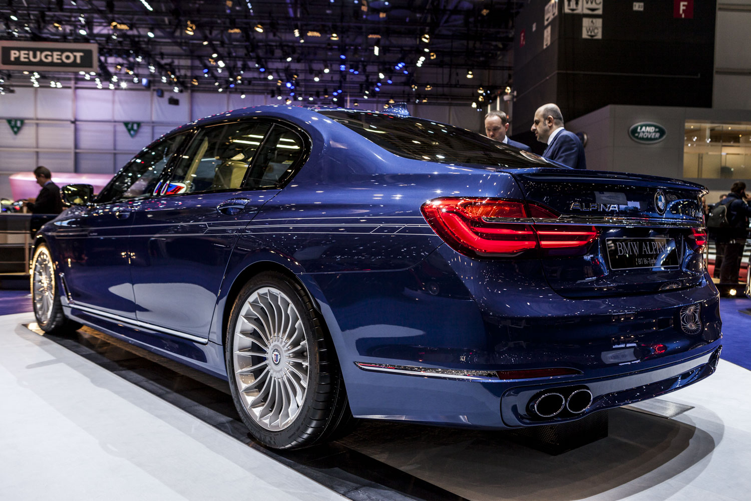 BMW Performance Exhaust >> Geneva 2016: Alpina B7