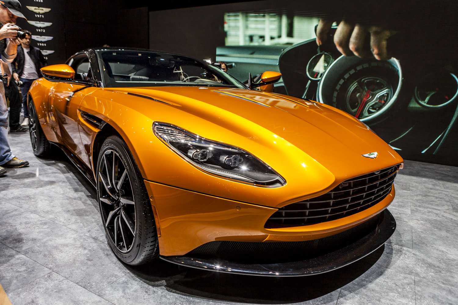 Geneva 2016  Aston Martin Db11 on aston martin vanquish interior