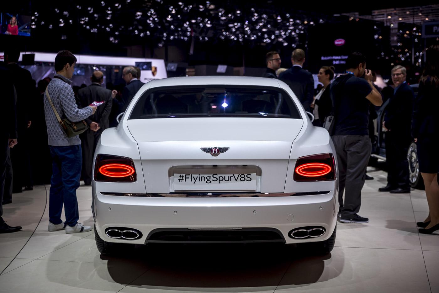 Geneva 2016 Bentley Flying Spur V8 S
