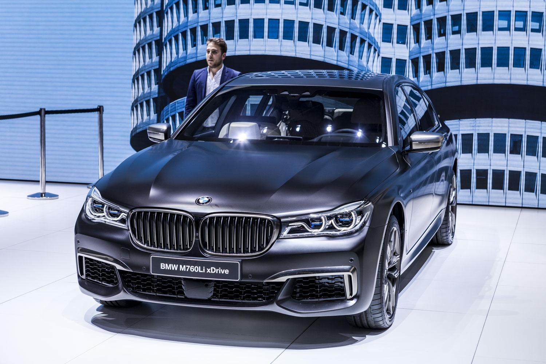 Genève 2016: BMW M760Li xDrive