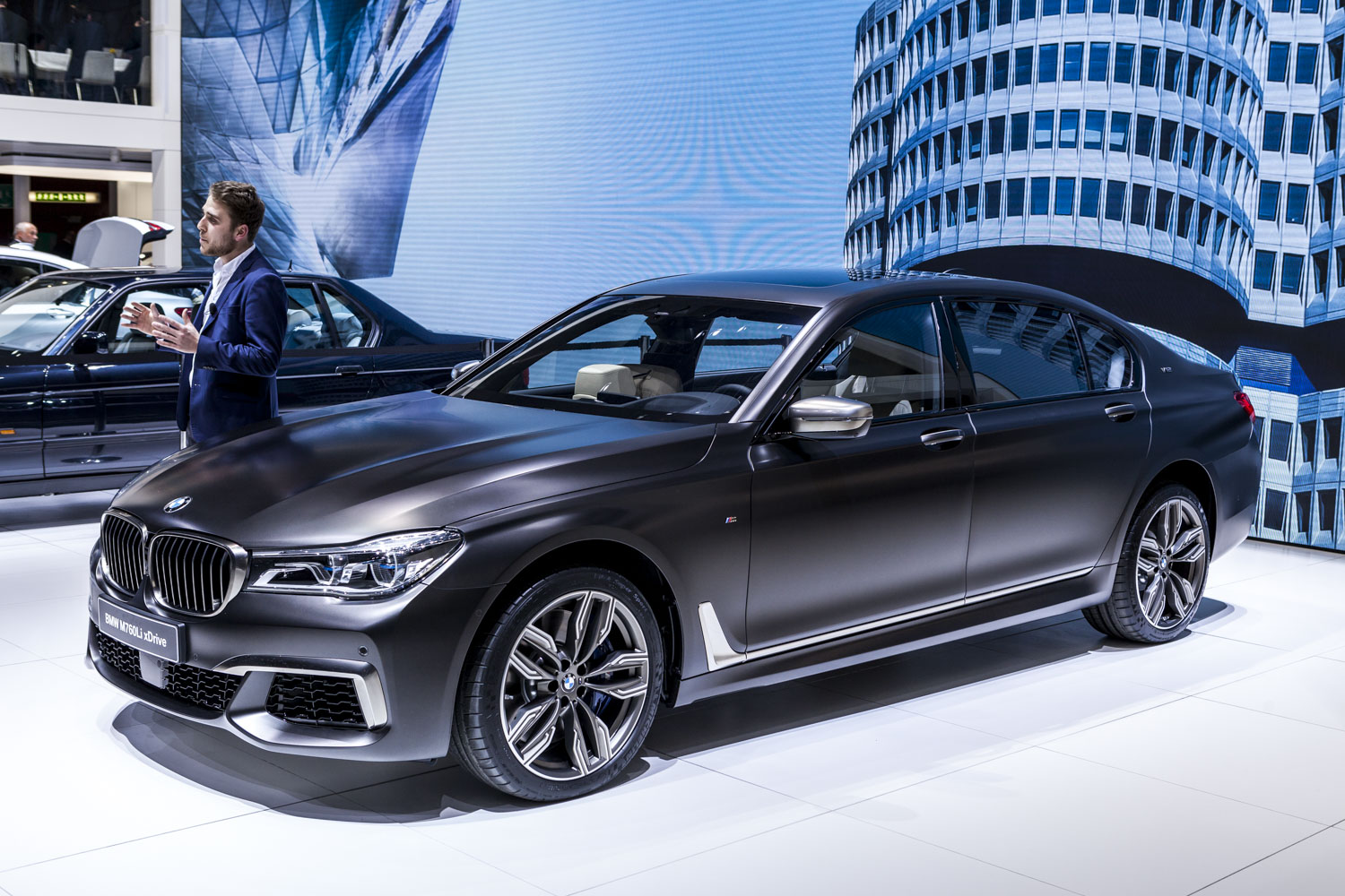 Bmw Used For Sale >> Geneva 2016: BMW M760Li xDrive