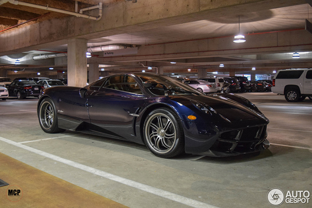 Another unique Pagani Huayra spotted in the United States