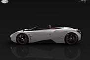 Pagani Huayra Roadster serait présentée à Pebble Beach