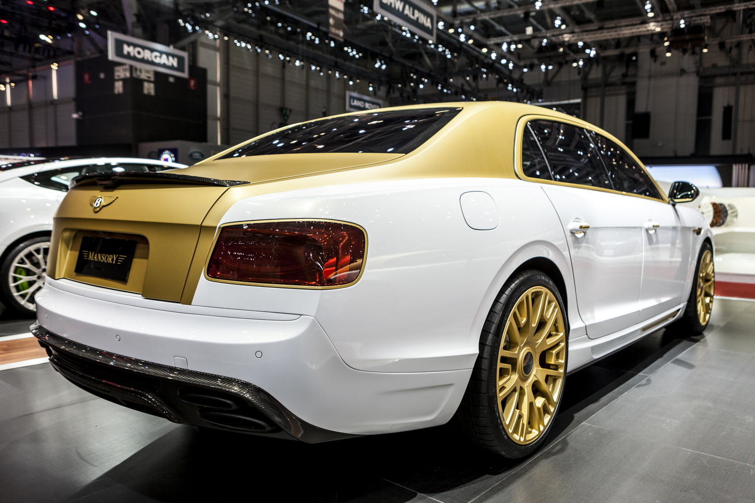 Genève 2016: Mansory Bentley Flying Spur