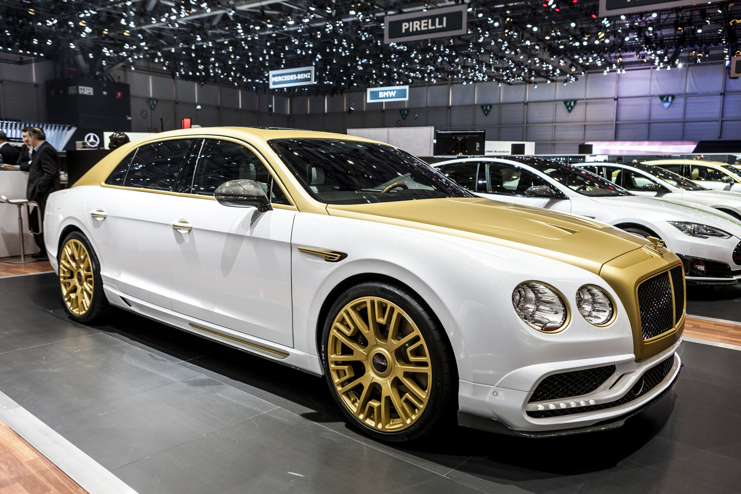 Geneva 2016 Mansory Bentley Flying Spur