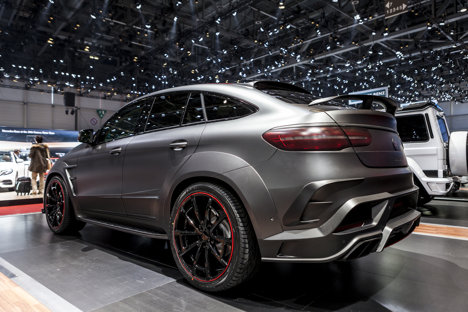 Mercedes Glc Coupe Tuning >> Geneva 2016: Mansory GLE 63 Coupé