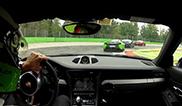 Porsche 991 GT3 driver shows who's boss at Monza