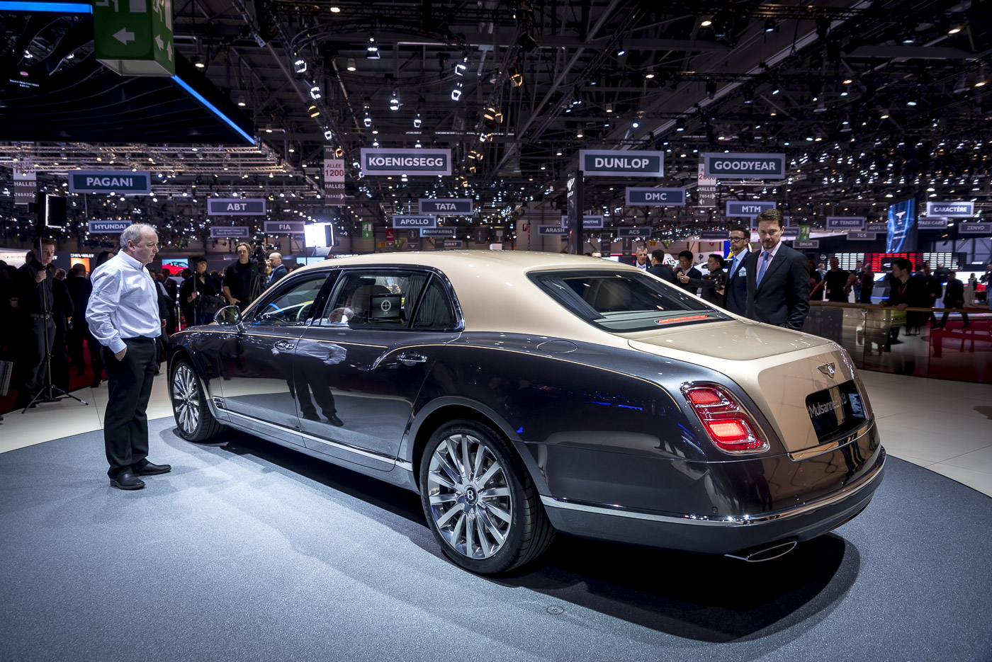 gen ve 2016 bentley mulsanne