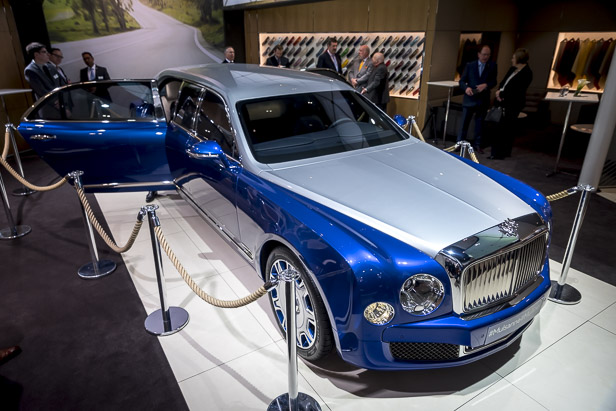 Geneva 2016: Bentley Mulsanne Grand Limousine by Mulliner