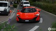 Delta Red ist eine perfekte Farbe für den McLaren 675LT
