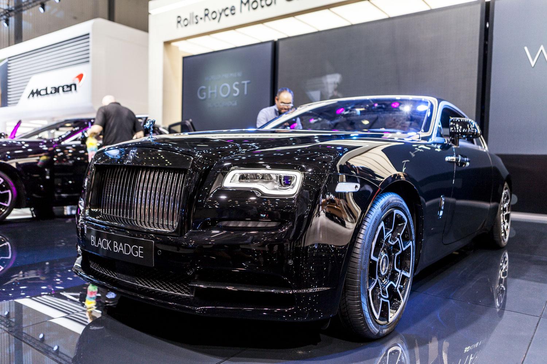 Genève 2016: Rolls-Royce' nieuwe Black Badge label