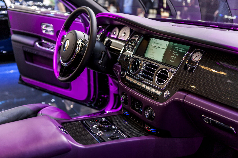 Geneva 2016 Rolls Royce New Black Badge Label
