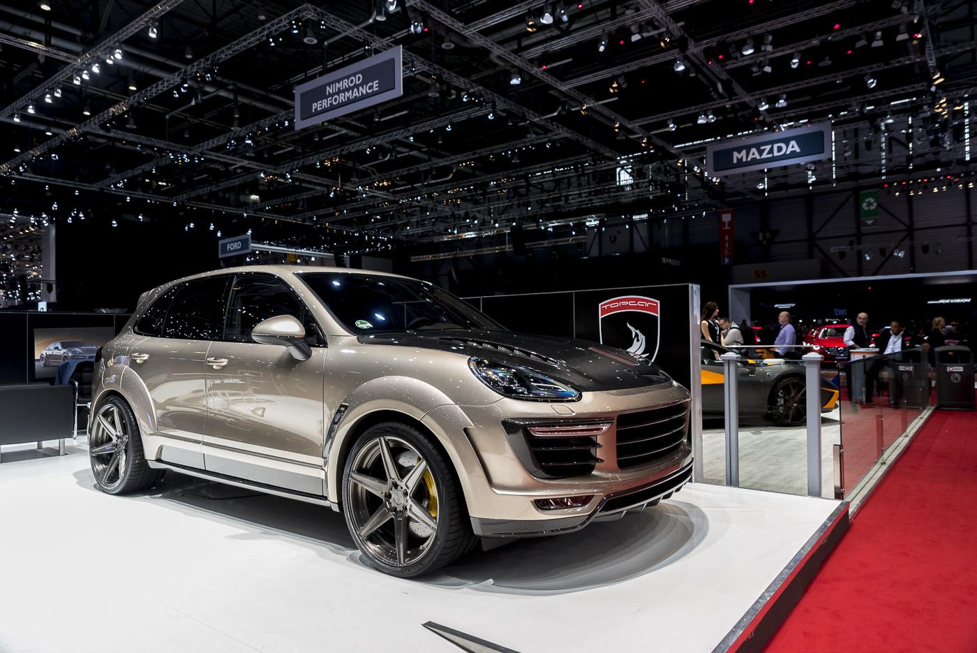 Genève 2016: TopCar Cayenne Vantage 2016