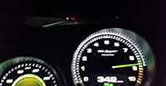 Porsche 918 Spyder goes flatout in Germany