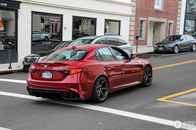 Alfa Romeo Giulia Quadrifoglio gaining popularity in the USA