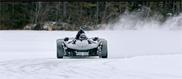 BAC laat talent van de Mono in sneeuw zien