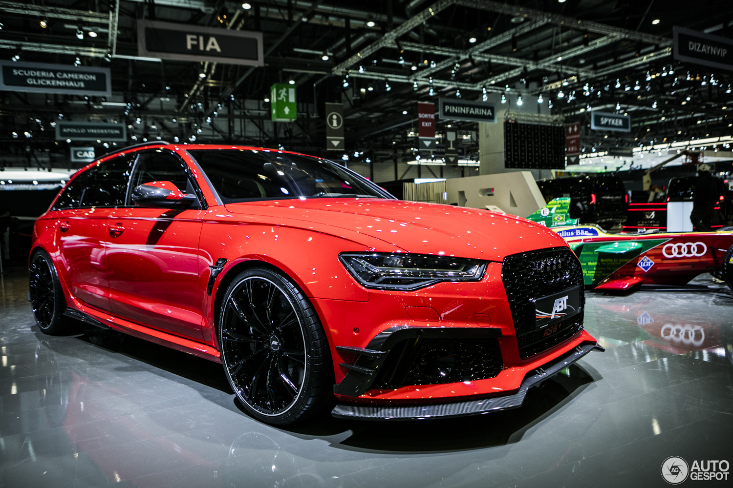Geneva 2017 Abt Impresses With The Rs6 R