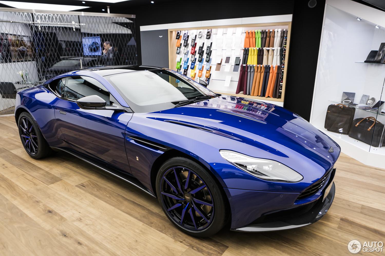Geneva 2017 Aston Martin Db11 By Q