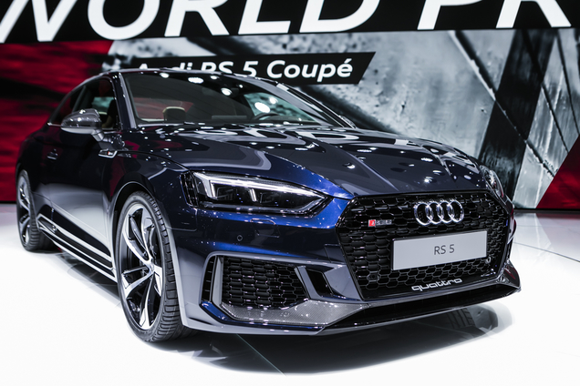 Geneva 2017 Audi Rs5