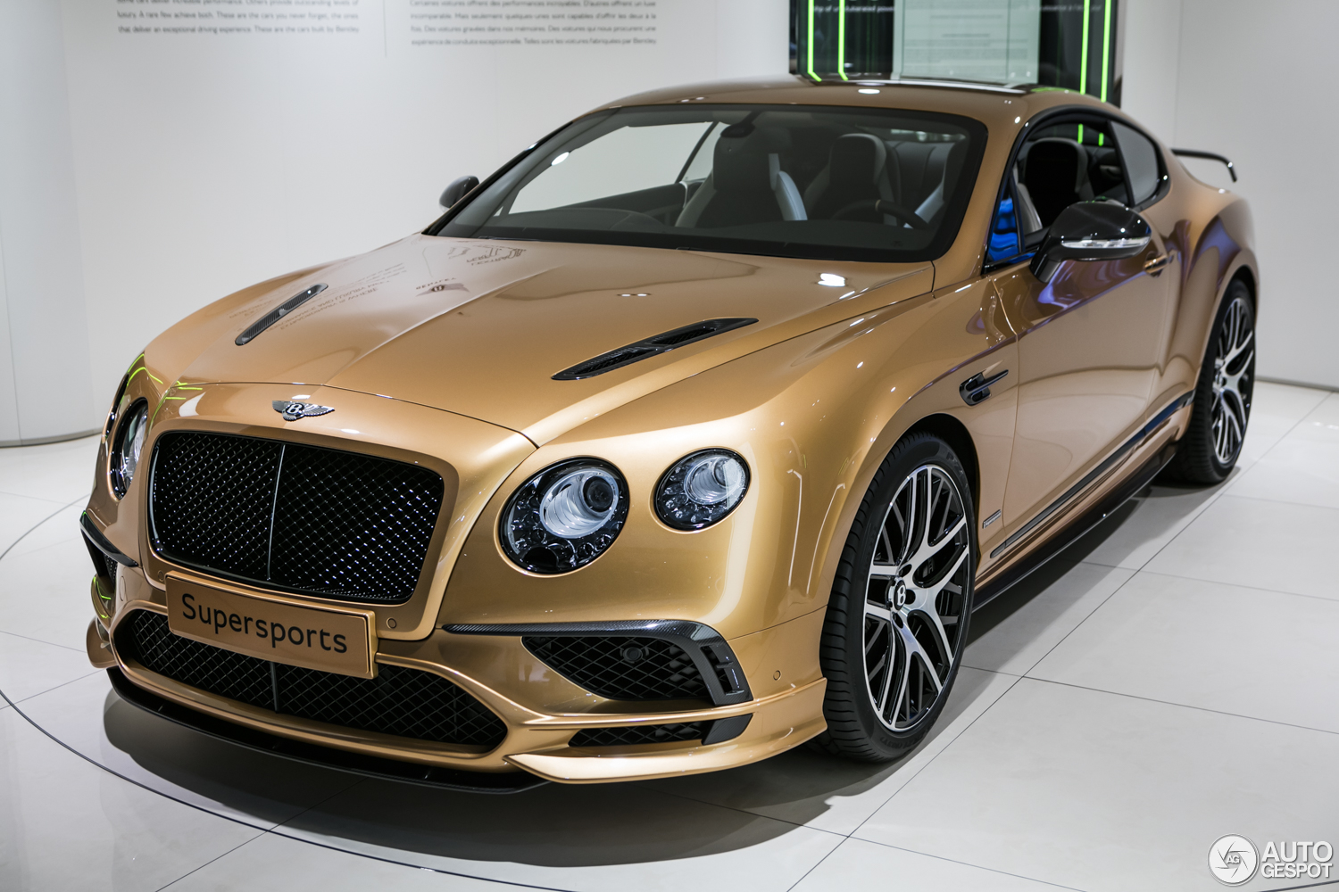 geneva 2017 bentley continental supersports. Black Bedroom Furniture Sets. Home Design Ideas