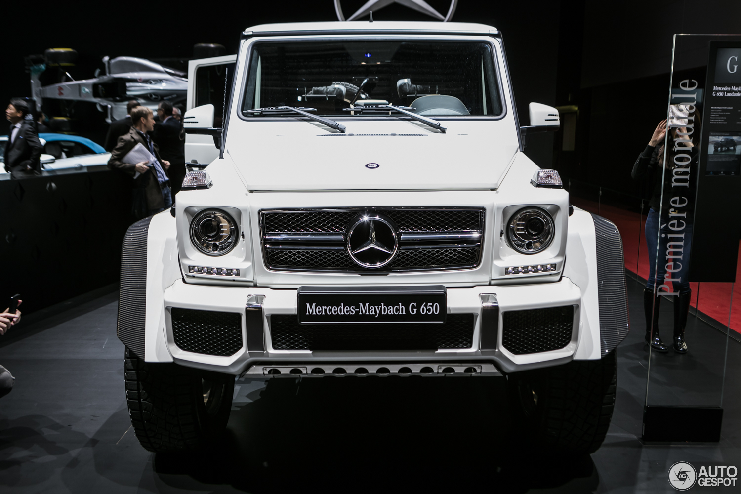 Mercedes Maybach G650 Price >> Geneva 2017: Mercedes-Maybach G650 4×4 Landaulet