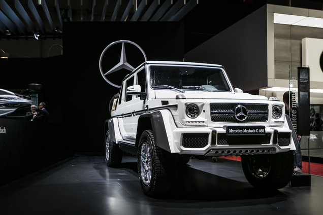 Genève 2017: Mercedes-Maybach G650 4×4 Landaulet